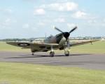 A Spitfire Mk II at Duxford (Photo Brian Proctor (CC BY-NC-SA 2.0)).