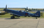 Spitfire PR.XIX PS853 at Duxford in 2003. (Photo Brian Proctor (CC BY-NC-SA 2.0))