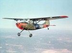 A U.S. Army Cessna O-1A Bird Dog (s/n 51-12711) in flight. (Photo US Army)