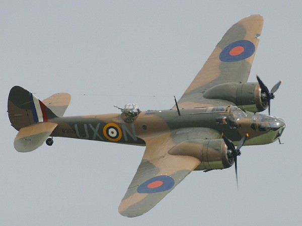 The Blenheim at Duxford in 2002 (Photo I Wish I was Flying (CC BY-ND 2.0))