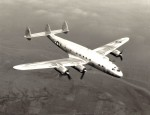 A Lockheed C-69 Constellation in 1943 (Photo USAF).