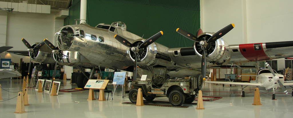 "The B-17G ""Shady Lady"" at the Evergreen Aviation & Space Museum. (Photo killbox (CC BY-NC 2.0))"