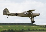 A Fieseler Storch at Flying Legends in 2012. (Photo Tony Hisgett (CC BY 2.0))