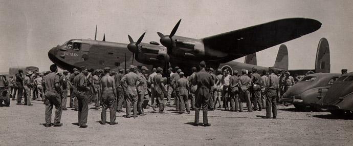 "Prime Minister Churchill's Avro York ""Ascalon""."