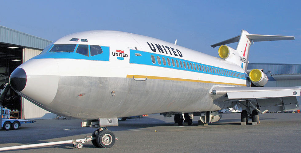 Beoing 727 Museum of Flight