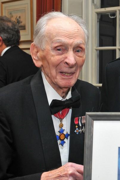Eric Brown during his 97th anniversary. (Photo © Benjamin Gilbert)
