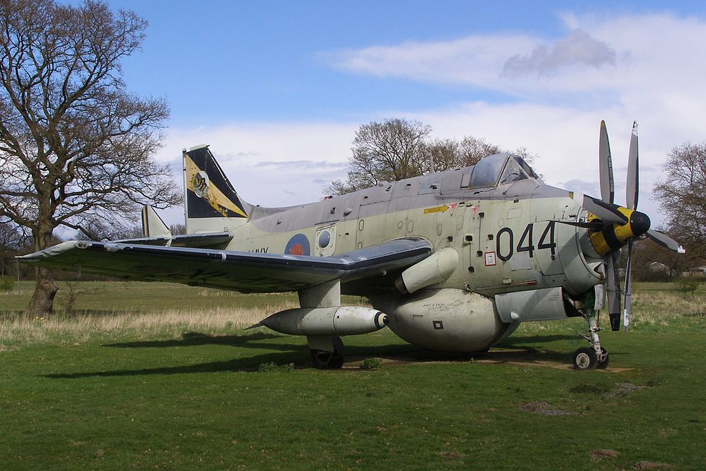 The Gatwick Air Museum's Fairey Gannet XL472. (Photo MilborneOne (CC BY-SA 4.0))