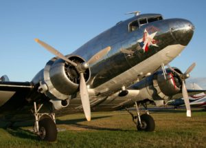 The C-47 Blue Bonnet Belle N47HL (Photo D. Miller (CC BY 2.0))