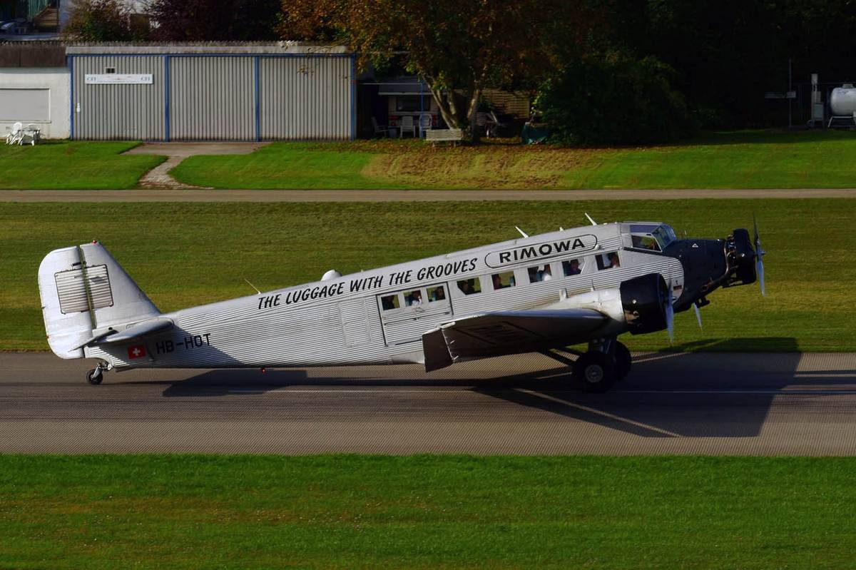 The Junkers Ju 52 HB-HOT in 2017. (Photo Lutz Blohm (CC BY-SA 2.0))