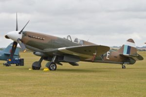 Spitfire PR.XIX PS890/F-AZJS at Duxford in 2015 (Photo Alan Wilson (CC BY-SA 2.0))