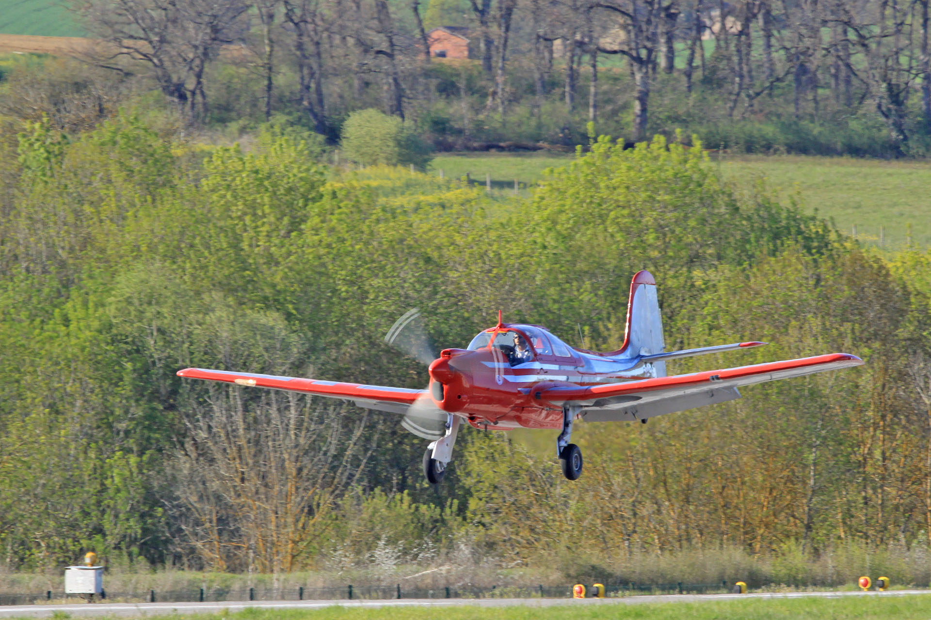 Morane-Saulnier MS.733 n°134 F-WYOT ( Photo © Vintage Aircraft Midi Pyrénées )