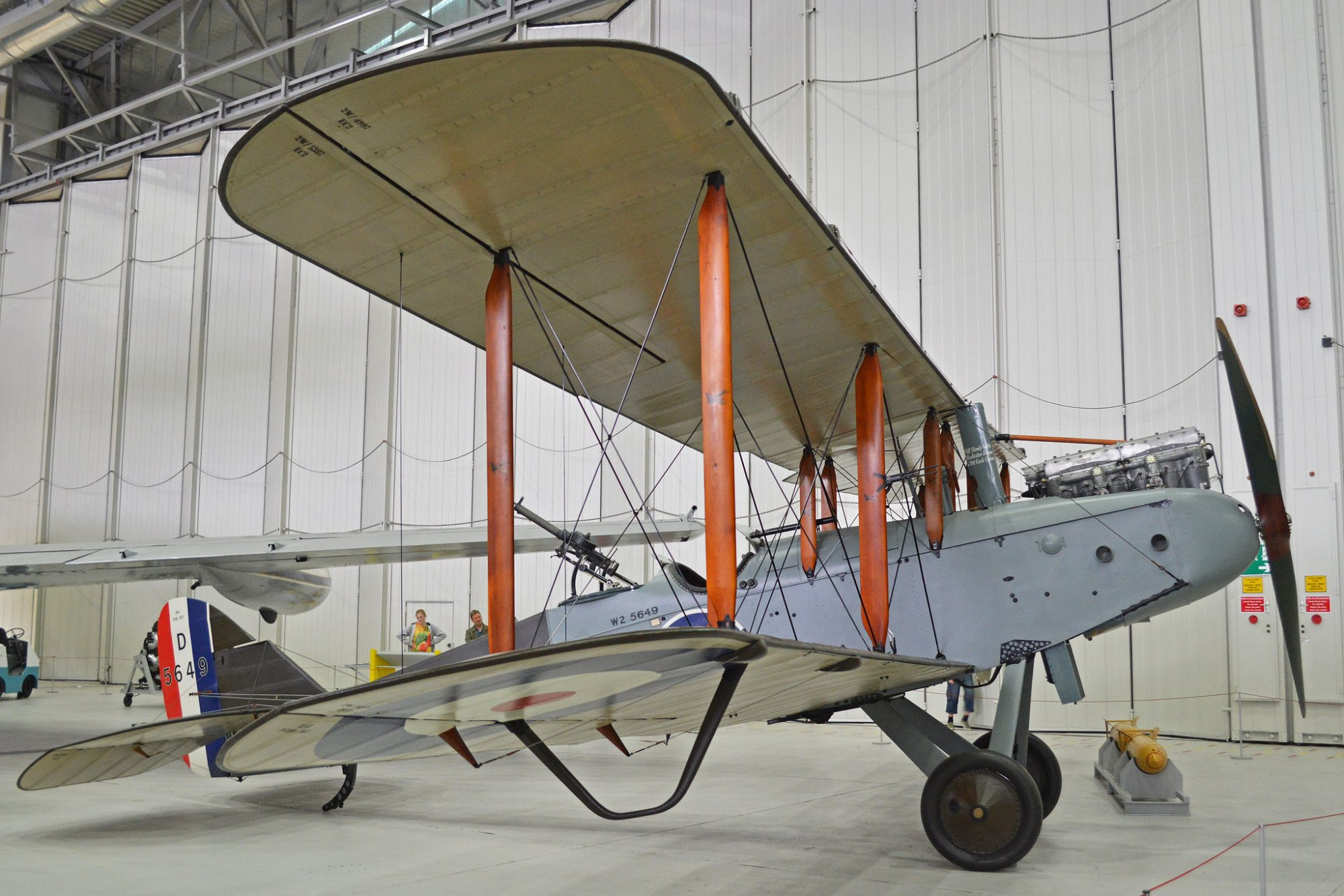 The other Airco DH.9, D5649, at the imperial War Museum Duxford ( Photo Alan Wilson (CC BY-SA 2.0))