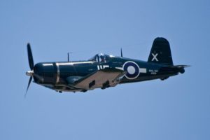 Vintage Wings of Canada's Goodyear FG-1D Corsair C-GVWC in 2009 (Photo Henry Lo (CC BY-NC-ND 2.0))