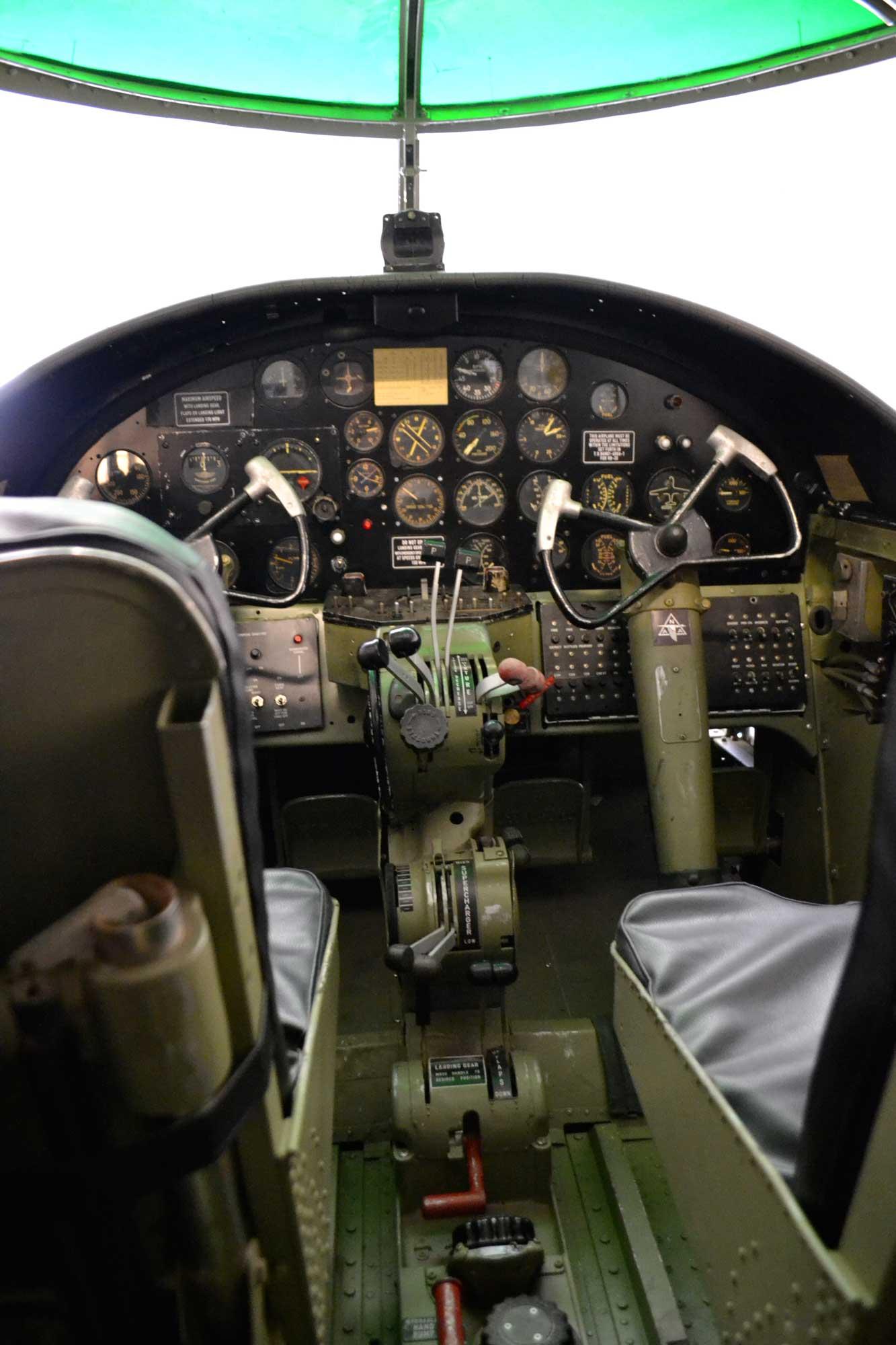 BAPA B-25 cockpit (Photo © BAPA)