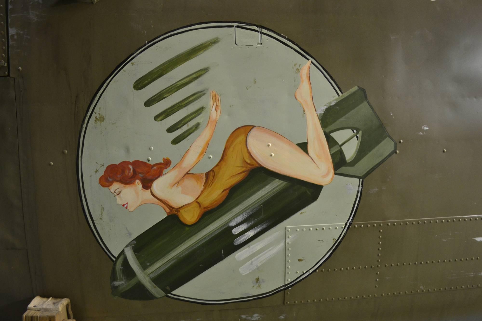 BAPA B-25 nose art (Photo © BAPA)